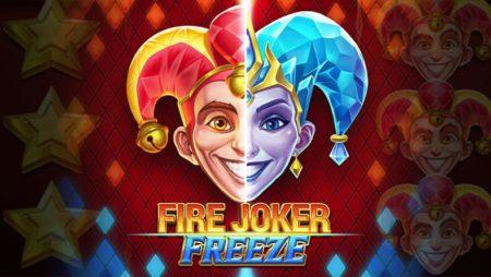 Fire Joker Freeze: Φρουτάκι με τρεις κυλίνδρους και μπαλαντέρ!